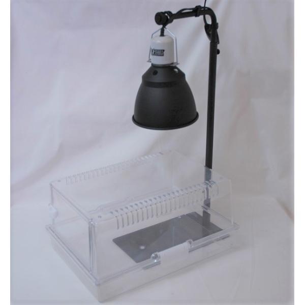 カーボンペットヒータースタンドセット 小鳥ケージ/保温器具/照射/速暖/ハ虫類ケージ aquapet 07