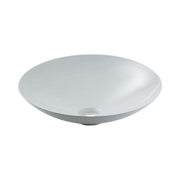 カクダイ 鉄穴 かんな 丸型洗面器 493-045-W