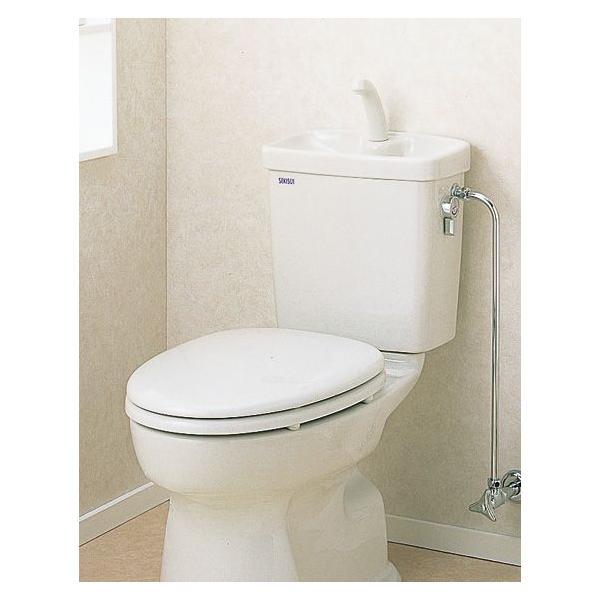 セキスイ(SEKISUI) 簡易水洗便器リブレット 洋風陶器製手洗付ロータンク式 AY-T(N)