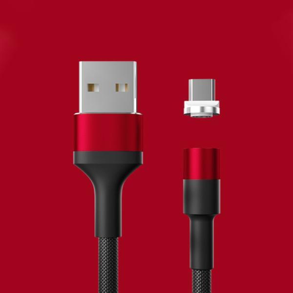 充電ケーブル ライトニングケーブル Micro USB Type C ケーブル 2.4A急速充電 高速データ転送 USB同期&充電 高耐久 磁石 マグネット式 ar-roman 10