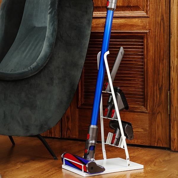 クリーナースタンド スティッククリーナースタンド 掃除機たて 掃除機スタンド 収納 掃除機立て コードレス クリーナースタンド ホワイト ブラック|ar-roman|13