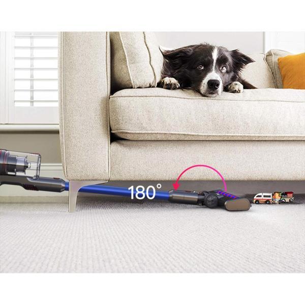 掃除機 コードレス スティック サイクロン クリーナー 充電式掃除機 吸引力 強い コンパクト 超軽量 ハンディ DIBEA掃除機 布団 兼用 車用 安い|ar-roman|18