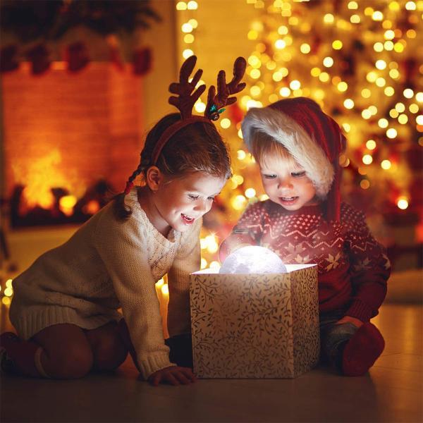 ムーンライト 月ライト 月のランプ ナイトライト 卓上ライト 常夜灯 防災グッズ 停電対策 夜間授乳 3Dプリント USB充電 リモコン タッチセンサー おしゃれ|ar-roman|20