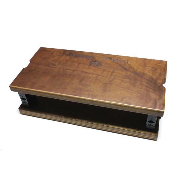 YOSHIZAWAピアノ用足台ASS-Vピアノ用アシストスツール補助台足置き台アシストペダル&ハイツール用
