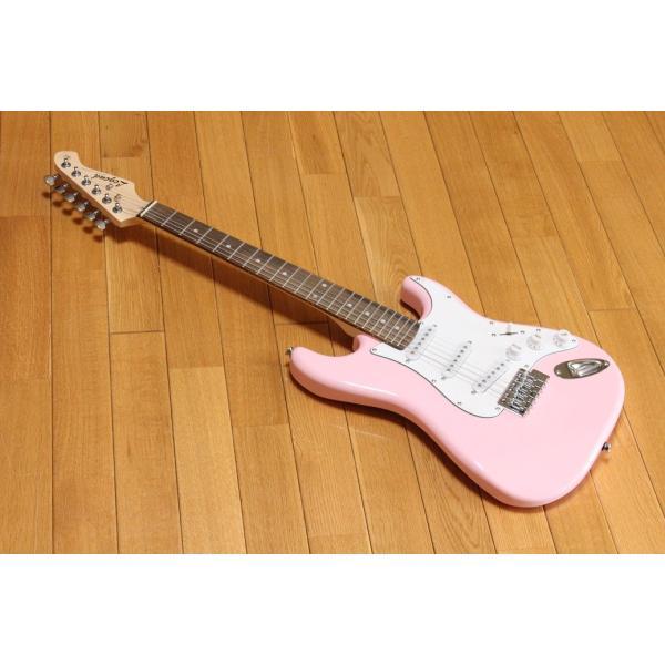 【送料無料】ARIA Legend アリア レジェンド 小学生や中学生におすすめのミニギター LST-MINI KWPK(Kawaii Pink) チューナープレゼント!|arabastamusic