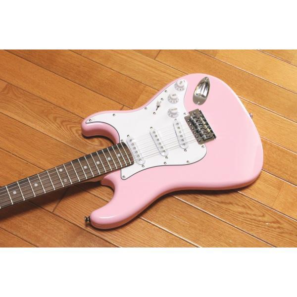 【送料無料】ARIA Legend アリア レジェンド 小学生や中学生におすすめのミニギター LST-MINI KWPK(Kawaii Pink) チューナープレゼント!|arabastamusic|03