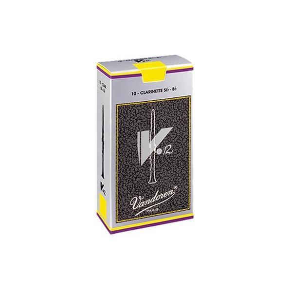 【送料無料】V12 バンドーレン (バンドレン) B♭ クラリネット 用 リード  吹奏楽部・クラシック奏者に人気の V12 シリーズ 10枚入り|arabastamusic