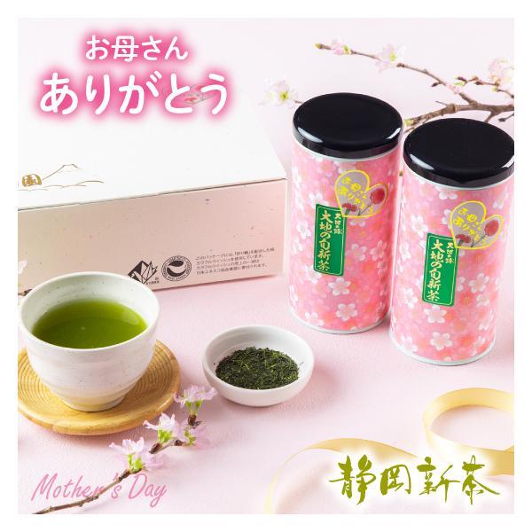 母の日2021ギフトプレゼントお茶新茶緑茶母の日2本箱入り5月5日頃予定