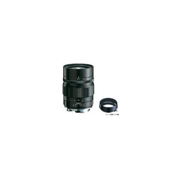 コシナ フォクトレンダー HELIAR classic 75mm F1.8 ブラック JAN末番2009