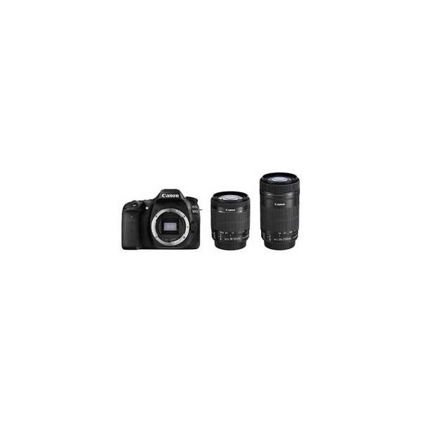Canon EOS 80D ダブルズームキット JAN末番2266