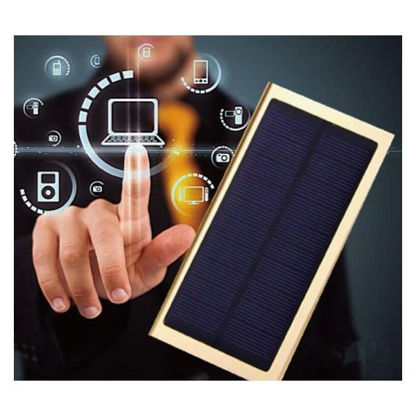 超薄ソーラー充電モバイルバッテリー20000mah大容量  レビューで送料無料 ポケモンGO iphone8 x arakawa5656 02