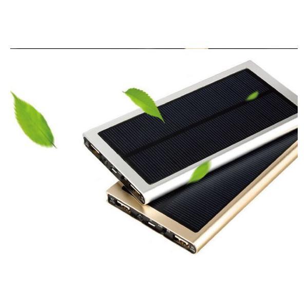 超薄ソーラー充電モバイルバッテリー20000mah大容量  レビューで送料無料 ポケモンGO iphone8 x arakawa5656 03