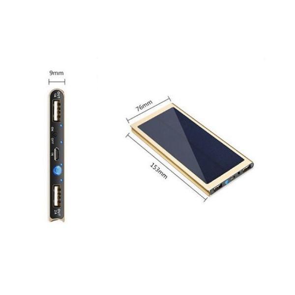 超薄ソーラー充電モバイルバッテリー20000mah大容量  レビューで送料無料 ポケモンGO iphone8 x arakawa5656 04