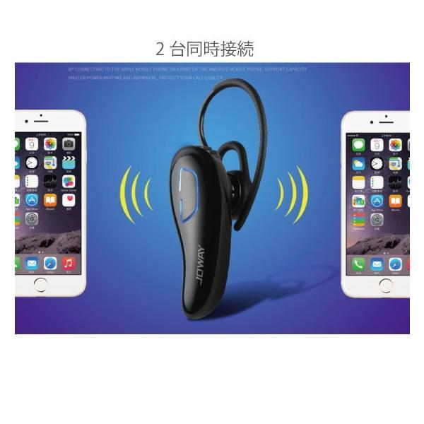 ワイヤレスイヤホン bluetooth イヤホン 片耳 両耳 iPhone android アンドロイド スマホ 高音質 ランニング スポーツ ジム 音楽|arakawa5656|07