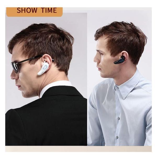 ワイヤレスイヤホン bluetooth イヤホン 片耳 両耳 iPhone android アンドロイド スマホ 高音質 ランニング スポーツ ジム 音楽|arakawa5656|10
