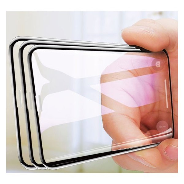 iPhoneXS Max XS XR X 8 Plus 8 7 Plus 7 6s Plus 6 Plus 6s 6 10D 強化ガラスフィルム 9H硬度 日本旭硝子製素材 衝撃吸収 気泡レス 全面保護|arakawa5656|17