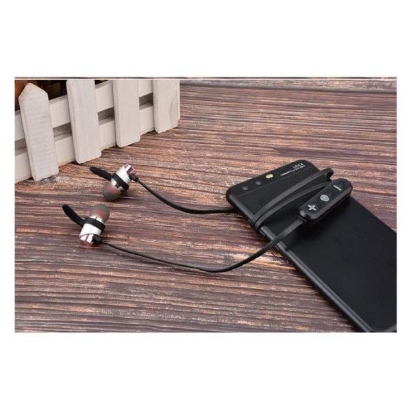 ワイヤレス イヤホン Bluetooth 5.0 高音質 長時間 軽量 防滴 iPhone Android SDカード スポーツ ランニング|arakawa5656|21