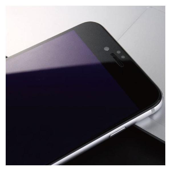 iPhone ブルーライトカット 強化ガラス 保護フィルム iPhoneXR iPhoneXS Max iPhone8 iPhone7 Plus iPhone6s iPhone6|arakawa5656|07