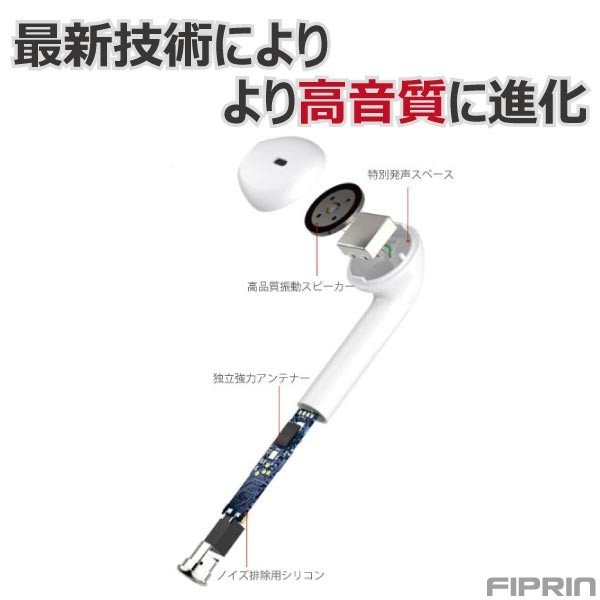 ワイヤレス イヤホン Bluetooth 5.0 tws i17 ステレオ ブルートゥース 最新版iPhone11 iPhoneXS iPhoneXR iPhone8 iPhone7 Android ヘッドセット ヘッドホン|arakawa5656|06