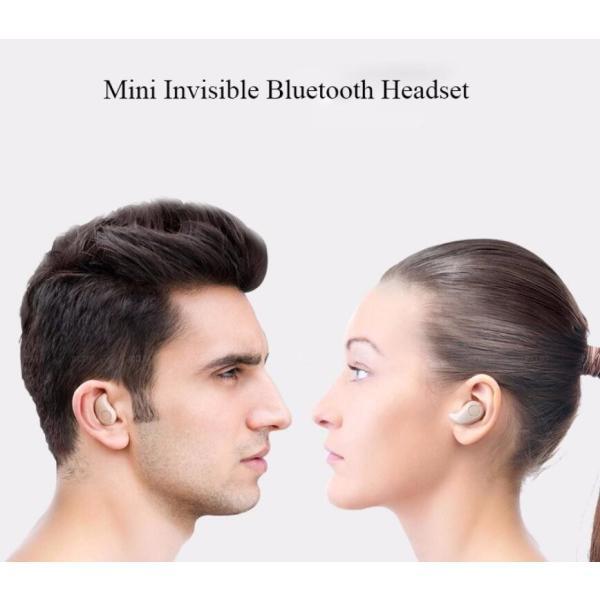 ワイヤレスイヤホン Bluetooth イヤホン 最新版 ブルートゥース s530 ヘッドセット 軽量 ヘッドホン 隠し型 オープン記念|arakawa5656|18