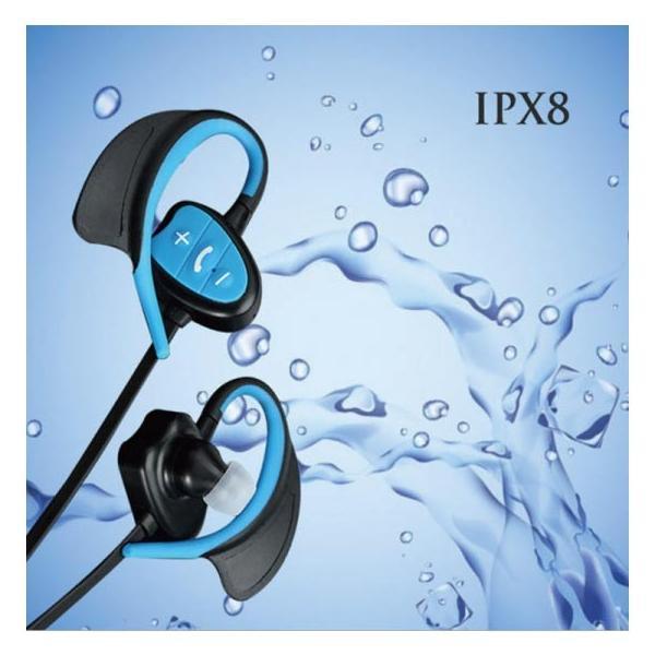 ワイヤレス イヤホン bluetooth 4.1 IPX8 防水 重低音 ブルートゥース オープン記念 iphone6s 7 8 x  Plus android ヘッドセット 軽量  ヘッドホン|arakawa5656|03