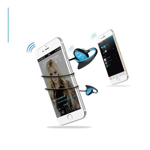 ワイヤレス イヤホン bluetooth 4.1 IPX8 防水 重低音 ブルートゥース オープン記念 iphone6s 7 8 x  Plus android ヘッドセット 軽量  ヘッドホン|arakawa5656|10