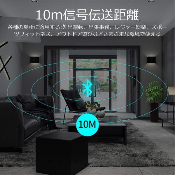 ワイヤレスイヤホン bluetooth イヤホン 高級 片耳用 iPhone android アンドロイド スマホ 運転 高音質 ランニング スポーツ ジム 音楽|arakawa5656|12