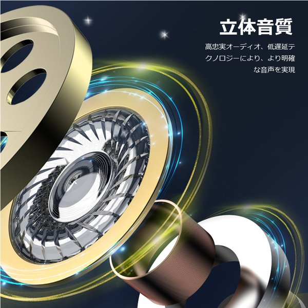 ワイヤレスイヤホン bluetooth イヤホン 高級 片耳用 マイク強化 iPhone android アンドロイド スマホ 運転 高音質 ランニング スポーツ ジム 音楽|arakawa5656|06