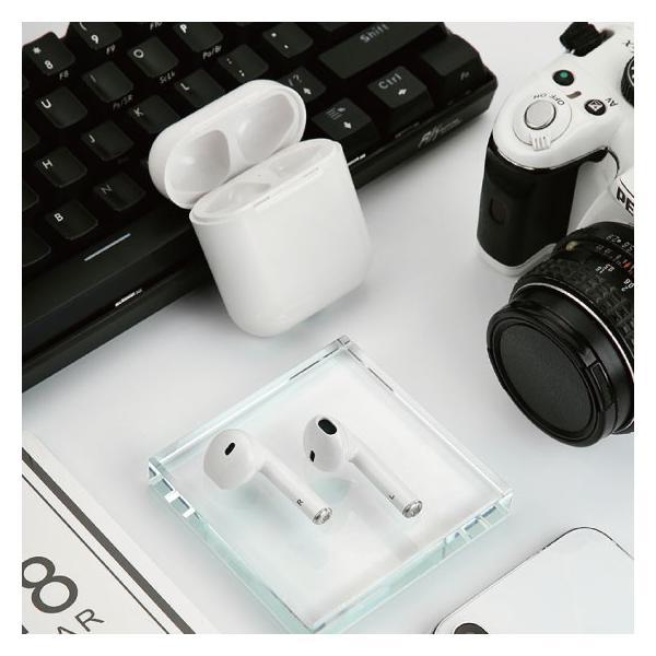 ワイヤレス イヤホン Bluetooth 4.2 i8ステレオ ブルートゥース オープン記念 最新版 iphone6s iPhone7 8 x Plus android ヘッドセット ヘッドホン|arakawa5656|04