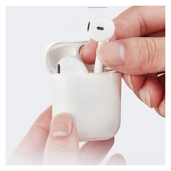 ワイヤレス イヤホン Bluetooth 4.2 i8ステレオ ブルートゥース オープン記念 最新版 iphone6s iPhone7 8 x Plus android ヘッドセット ヘッドホン|arakawa5656|09