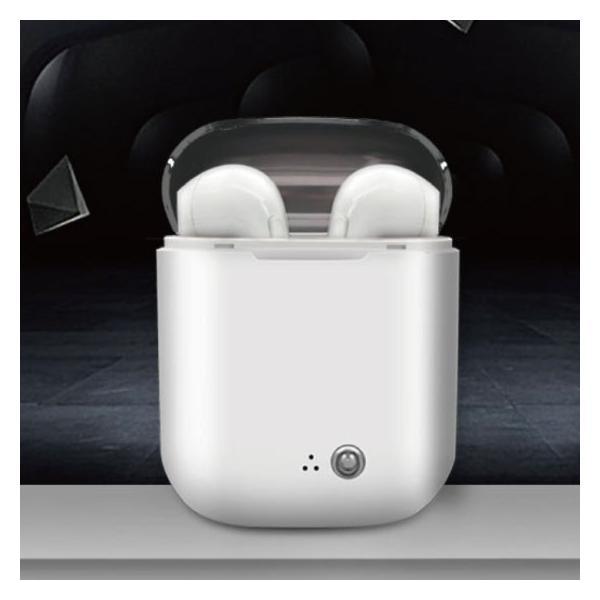 ワイヤレス イヤホン Bluetooth 4.2 i7透明蓋 ステレオ ブルートゥース オープン記念 最新版 iphone6s iPhone7 8 x Plus android ヘッドセット ヘッドホン|arakawa5656|02
