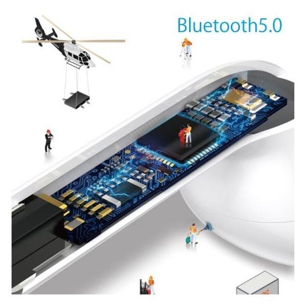 【期間限定半額】ワイヤレス イヤホン Bluetooth 4.2 i9 ステレオ ブルートゥース オープン記念 最新版 iphone6s iPhone7 8 x Plus android ヘッドホン|arakawa5656|06