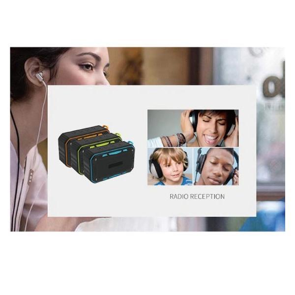 ワイヤレススピーカー IPX67 防水 高音質ミニブルートゥース Bluetooth スピーカー 6W通話可iphoneX iPhone7 iphone8  iphone5 5s 5c 6 s plus iPad android|arakawa5656|11