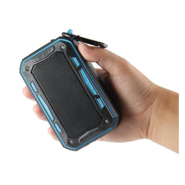 ワイヤレススピーカー IPX67 防水 高音質ミニブルートゥース Bluetooth スピーカー 6W通話可iphoneX iPhone7 iphone8  iphone5 5s 5c 6 s plus iPad android|arakawa5656|19