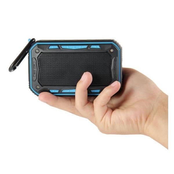 ワイヤレススピーカー IPX67 防水 高音質ミニブルートゥース Bluetooth スピーカー 6W通話可iphoneX iPhone7 iphone8  iphone5 5s 5c 6 s plus iPad android|arakawa5656|20