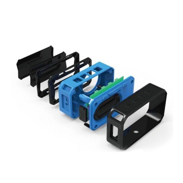ワイヤレススピーカー IPX67 防水 高音質ミニブルートゥース Bluetooth スピーカー 6W通話可iphoneX iPhone7 iphone8  iphone5 5s 5c 6 s plus iPad android|arakawa5656|03