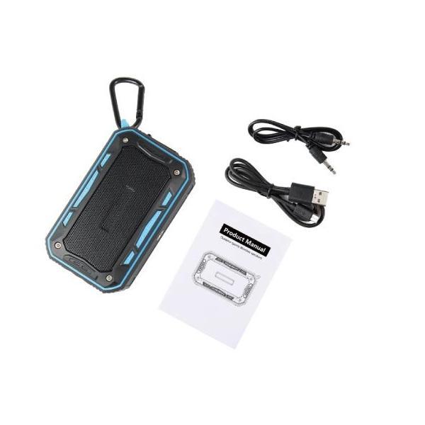 ワイヤレススピーカー IPX67 防水 高音質ミニブルートゥース Bluetooth スピーカー 6W通話可iphoneX iPhone7 iphone8  iphone5 5s 5c 6 s plus iPad android|arakawa5656|21