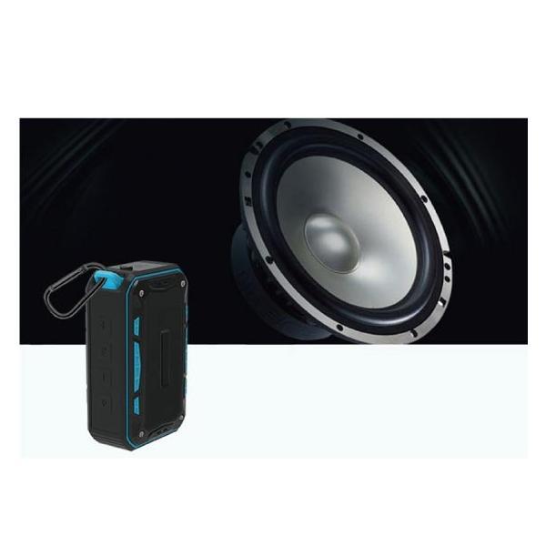 ワイヤレススピーカー IPX67 防水 高音質ミニブルートゥース Bluetooth スピーカー 6W通話可iphoneX iPhone7 iphone8  iphone5 5s 5c 6 s plus iPad android|arakawa5656|06