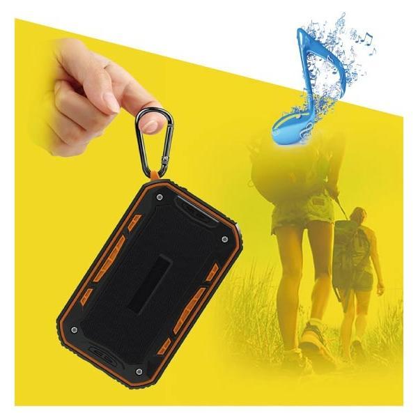 ワイヤレススピーカー IPX67 防水 高音質ミニブルートゥース Bluetooth スピーカー 6W通話可iphoneX iPhone7 iphone8  iphone5 5s 5c 6 s plus iPad android|arakawa5656|07