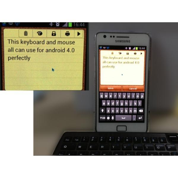 アンドロイド対応マウス 世界初 Bluetoothキーボードとタッチパット arakawa5656 04