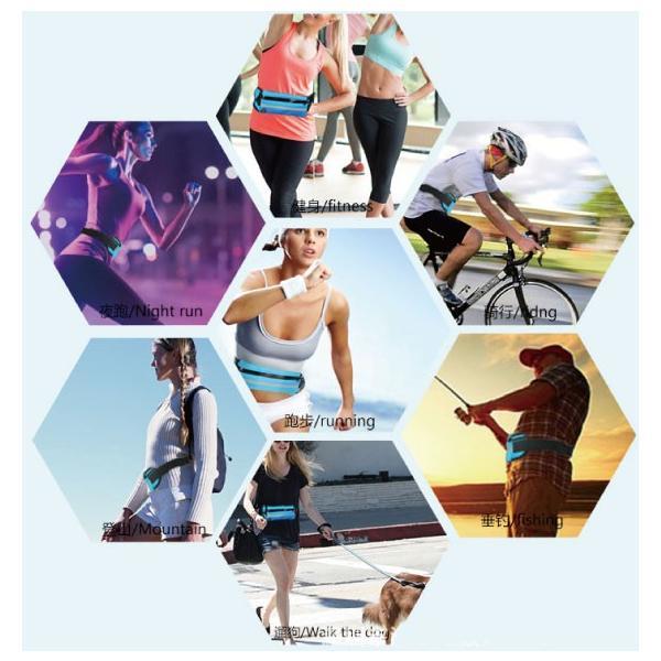 スマホ ウエストホルダー ランニング ジョギング ウォーキング スポーツ ホルダー ポーチ ポケモンGO|arakawa5656|02