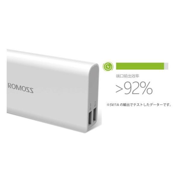 ROMOSS SENSE4 大容量モバイルバッテリー 10400mAh|arakawa5656|02
