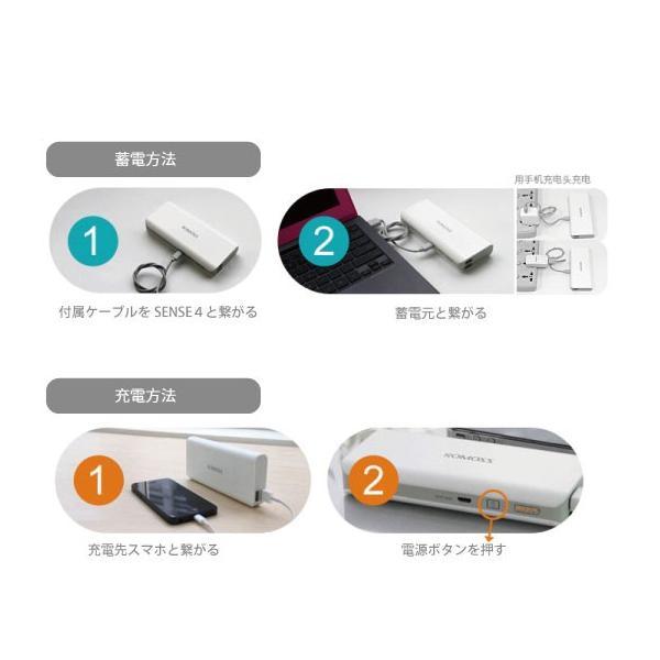 ROMOSS SENSE4 大容量モバイルバッテリー 10400mAh|arakawa5656|06