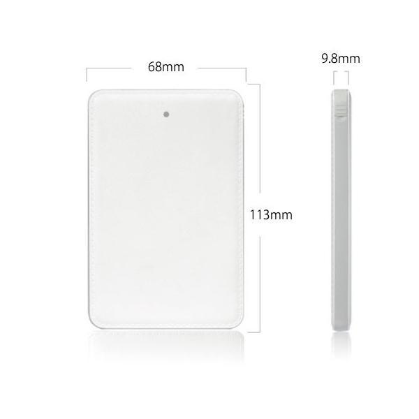 モバイルバッテリー  大容量 薄型 コンパクト ケーブル不要 充電器 PSEマーク 8900mAh iphone 8 x iphone7 plus 6 5s 送料無料 ポケモンGO【数量限定】|arakawa5656|04