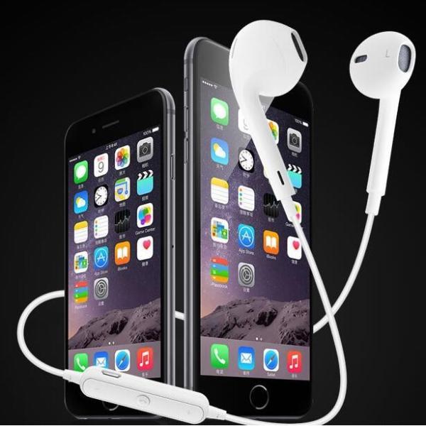 ワイヤレス イヤホン bluetooth 4.1 S6 ブルートゥース オープン記念 iphone6s iPhone7 8 x  Plus android ヘッドセット 軽量 ワイヤレス ヘッドホン|arakawa5656|06