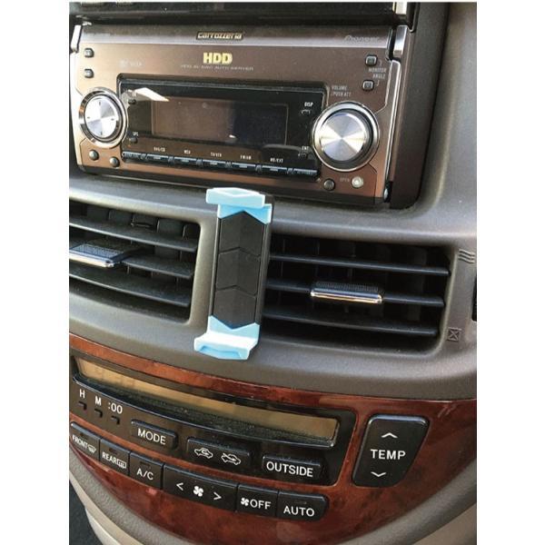 スマホ 車載ホルダー iphone6 iphone7 plus iphoneX 吹き出し口 スマホホルダー 360度回転可能   送料無料 arakawa5656 02