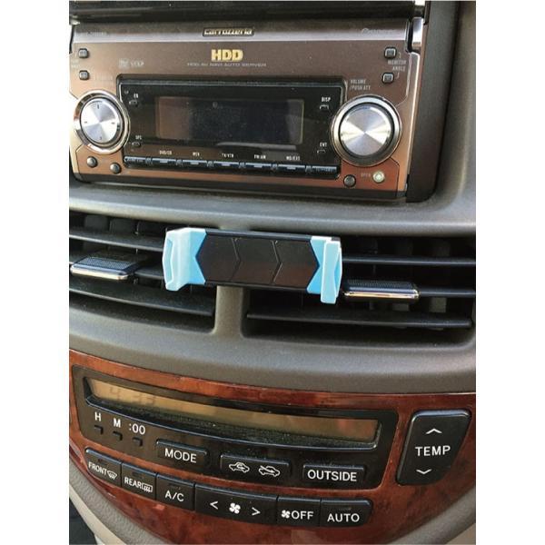 スマホ 車載ホルダー iphone6 iphone7 plus iphoneX 吹き出し口 スマホホルダー 360度回転可能   送料無料 arakawa5656 03