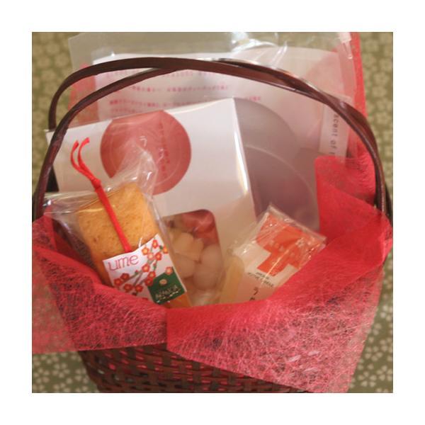 〜梅の香り〜梅のフレグランスキャンドルとパウンドケーキのセット(焼き菓子)