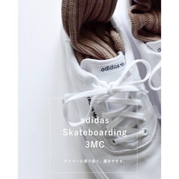 adidas Originals アディダス オリジナルス キャンバススニーカー adidas Skateboarding 3MC 3mc