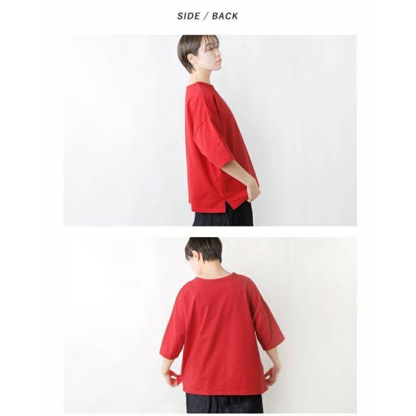 NARU ナル aranciato別注 40 2クラシック天竺コットン2way半袖プルオーバー 637030|aranciato|15